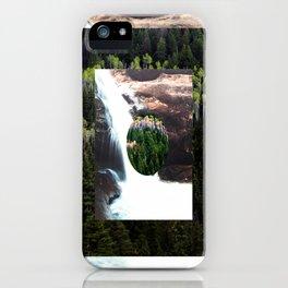 TREE FALLS iPhone Case