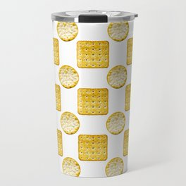 Savoury Biscuits Polka Dot Pattern Travel Mug