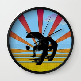 In Search of Space Wall Clock