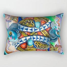 Rabbit: A Full House Divided Rectangular Pillow