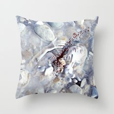 Your touch is so empty Throw Pillow