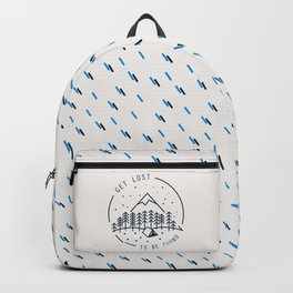Get lost to be found Backpack