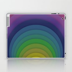 Rainbow circles Laptop & iPad Skin