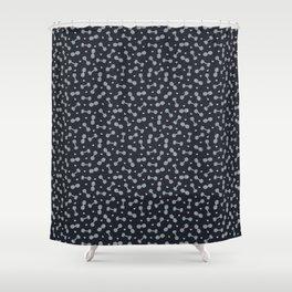 I LOVE STRENGTH (Dark Background Option) Shower Curtain