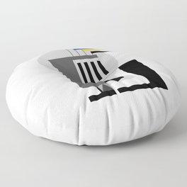 BAUHAUS DREAMING Floor Pillow