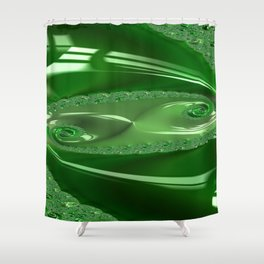 Enamored Selenium Fractal 6 Shower Curtain