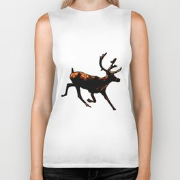 The Mighty Moose Mongoose Reindeer Elk Rentier Caribou Biker Tank