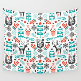 Hygge Holiday Wall Tapestry