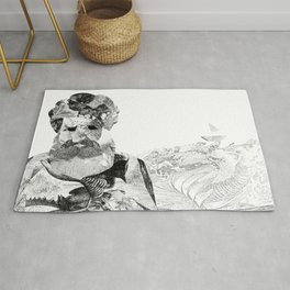 Old Man and the Sea Rug