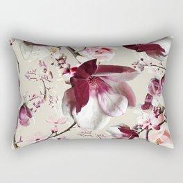 Magnolia cherry blossum Rectangular Pillow