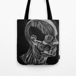 head diagram Tote Bag