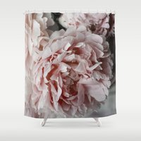 peonies Shower Curtains featuring Peonies  by Pure Nature Photos