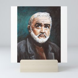Sean Connery - 𝕻𝖔𝖓𝖙𝖊 𝕭𝖎𝖊𝖓 - Double O Seven James B' OND Hollywood International Superstar 1 Mini Art Print