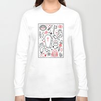 horror Long Sleeve T-shirts featuring Good Clean Horror by Josh Ln