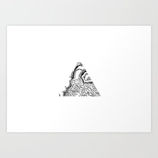 Tricoeur Art Print