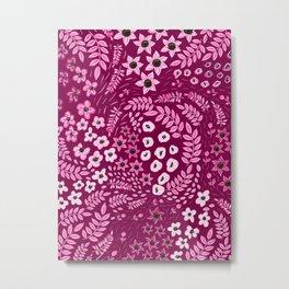 Pink Pink Metal Print