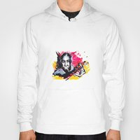 robert farkas Hoodies featuring Robert Johnson by Matteo Lotti