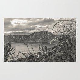 Quilotoa Lake, Latacunga Ecuador Rug