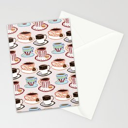 We want coffee! Stationery Cards