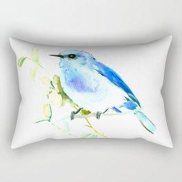 Mountain Bluebird homde decor Rectangular Pillow