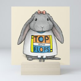 Top of the Flops Mini Art Print