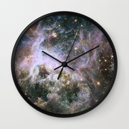 Infrared View of the Tarantula Nebula Wall Clock