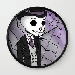 Skeleton Groom Wall Clock