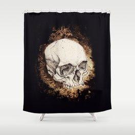 Skull Study No.6 (aka - Barrie) Shower Curtain