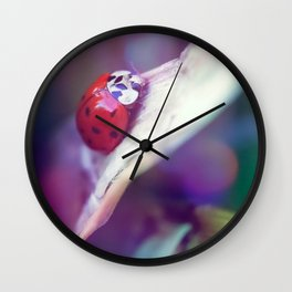 A stop on the way up Wall Clock