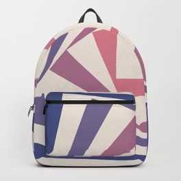Spinning Squares Palette IIII Backpack