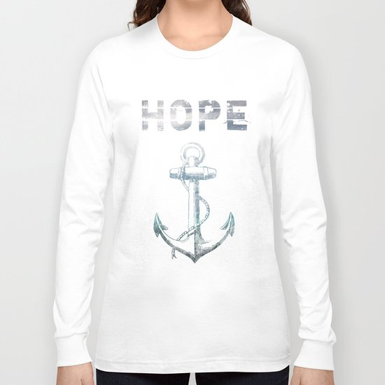 Hope Anchor Long Sleeve T-shirt
