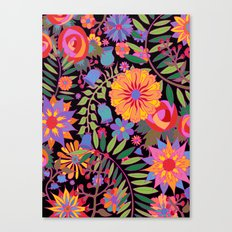 Just Flowers Canvas Print
