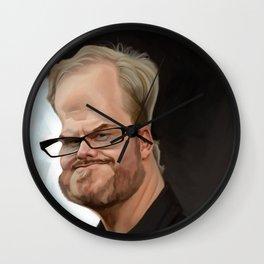Jim Gaffigan Wall Clock