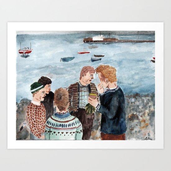 Seaside Art Print