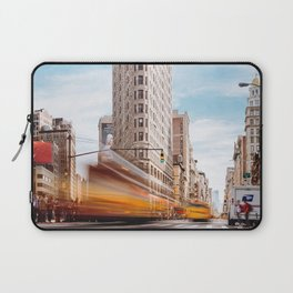 Flatiron Building New York Laptop Sleeve