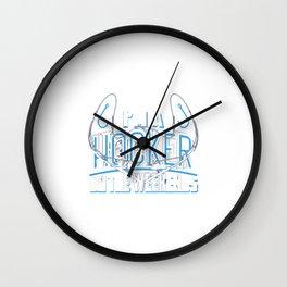I'm A Hooker Wall Clock