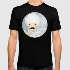 The Wings of the Dove MEDIUM Black Mens Fitted Tee