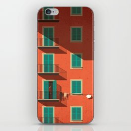 Shyness iPhone Skin