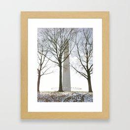 Washington Wonderland Framed Art Print
