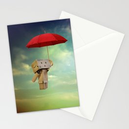 Danbo on tour Stationery Cards