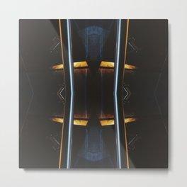 Light and Lines Metal Print