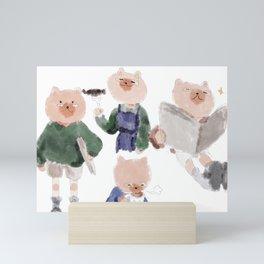 Dog Dad Mini Art Print