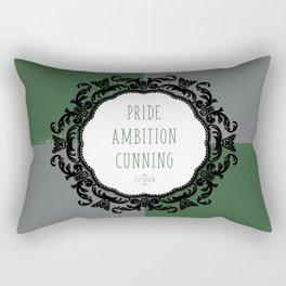 Slytherin Pride Rectangular Pillow