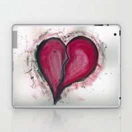 Cracked & Splattered Heart Laptop & iPad Skin