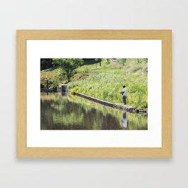 The Fisherman Framed Art Print