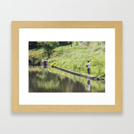 The Fisherman Framed Art Print