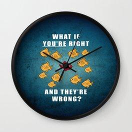 Fargo Fish Wall Clock