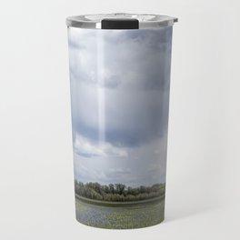 Field of Camas and Dandelions, No. 2 Travel Mug