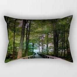 Bridge to Paradise Rectangular Pillow
