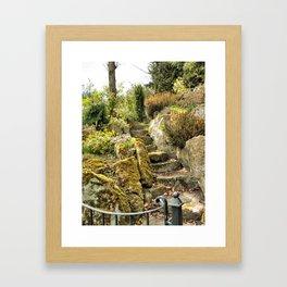 Stairway to... Warwick, England 2006 Framed Art Print